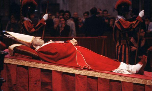 """Am 10. September 1978 – wenige Tage vor seinem Tod – nannte Papst Johannes Paul I. in einer Ansprache Gott einen Vater – """"aber noch mehr ist er Mutter"""". / Bild: Getty Images"""