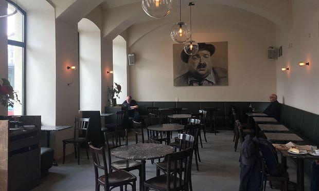Das neu gestaltete Café Drechsler.