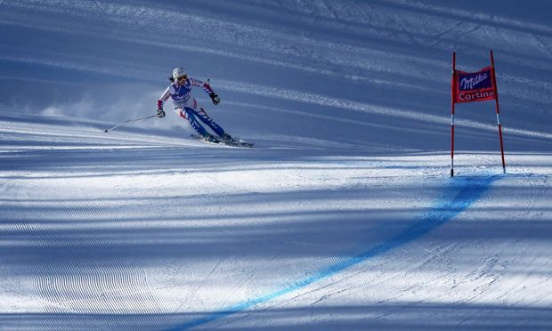 SKI ALPIN - FIS WC Cortina d Ampezzo, Abfahrt, Damen, Training