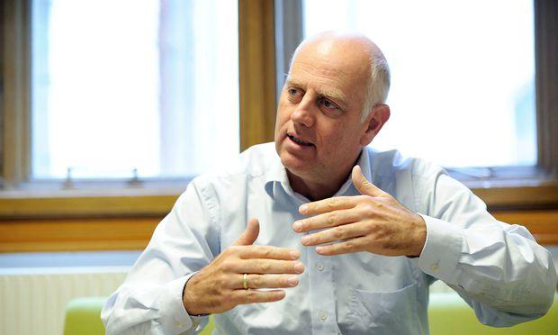Der grüne Planungssprecher Christoph Chorherr