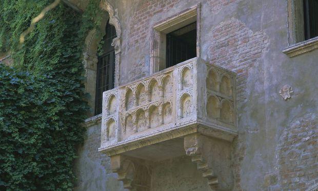 Der Balkon Von Romeo Und Julia In Verona Wird Renoviert Diepresse Com