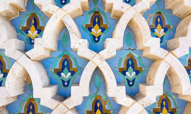 Bei marokkanischen Fliesen zählt die Liebe zum Detail