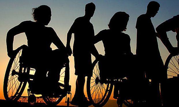 Themenbild: Behindertensportler
