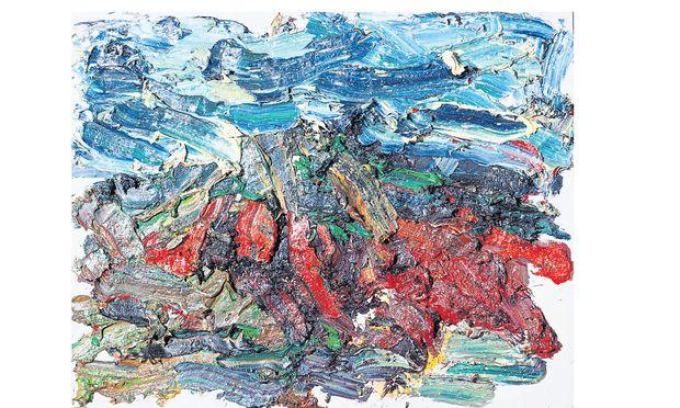 """""""Sandgrube"""" von Franz Grabmayr bei der Galerie Hilger"""