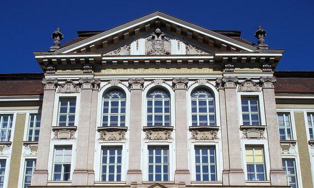Hauptportal der Montanuniversität Leoben (Archivbild)