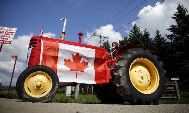 Der Export von Maschinen nach Kanada ließe sich noch steigern.