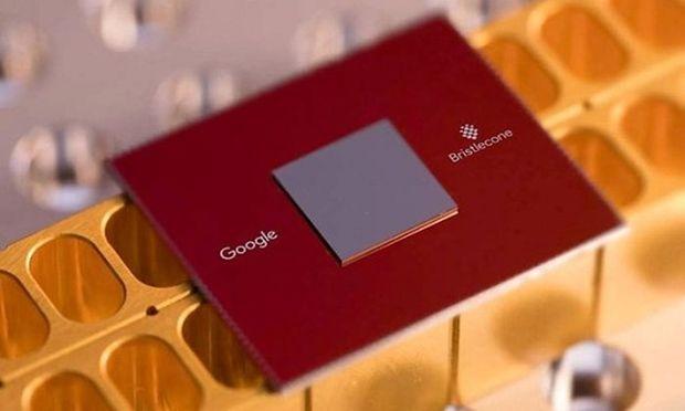 """Die Forscher simulieren Systeme wie zum Beispiel Googles eigenen Quantencomputer """"Bristlecone""""."""