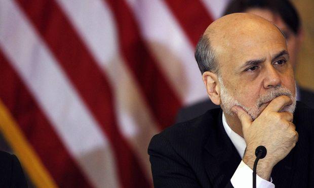 Bernanke Fed Thron