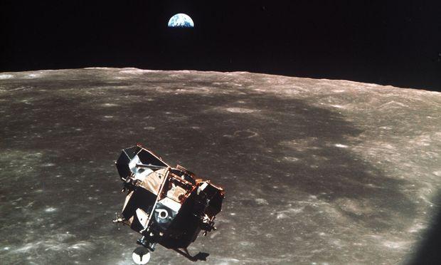 Vor genau 50 Jahren startete die erste bemannte Mondmission.