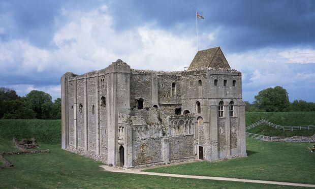 Castle Rising Castle gehört zu den berühmtesten Burgruinen Englands.