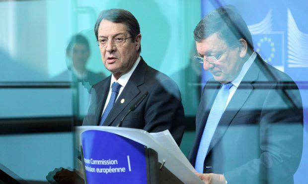 Zypern schafft Vorgaben nicht