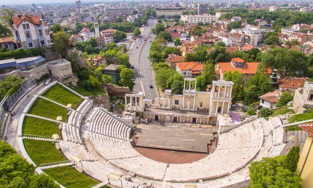 Bulgariens zweitgrößte Stadt, Plovdiv, besteht seit 7000 Jahren und wird 2019 Kulturhauptstadt.