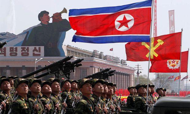Parade in Nordkorea