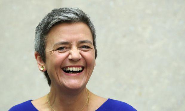 EU-Kommissarin Margrethe Vestager ist Spitzenkandidatin der liberalen Fraktion im EU-Parlament