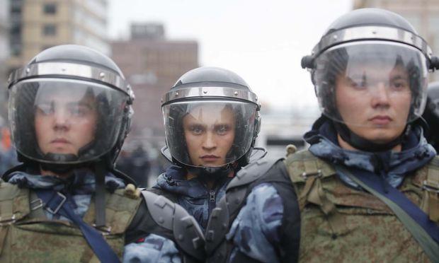 Die Polizei sprach von rund 20.000 Demonstranten.