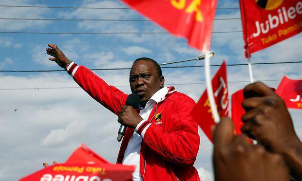 Kenyatta siegt bei Präsidentenwahl in Kenia
