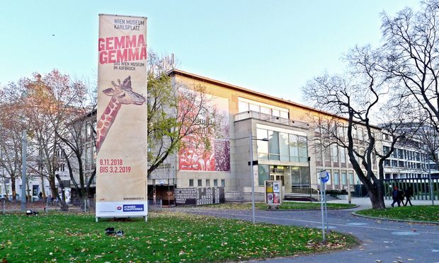 Umbau demnächst: Wien Museum.