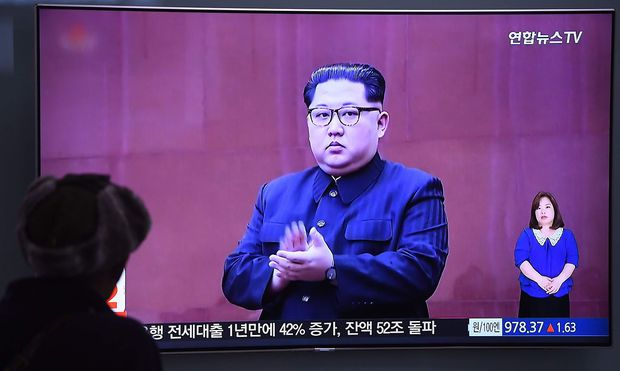 Südkoreanische Medien berichteten am Mittwoch über die neuen Drohungen des nordkoreanischen Machthabers.