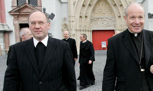 Bischof Alois Schwarz (li.) und Kardinal Christoph Schönborn.
