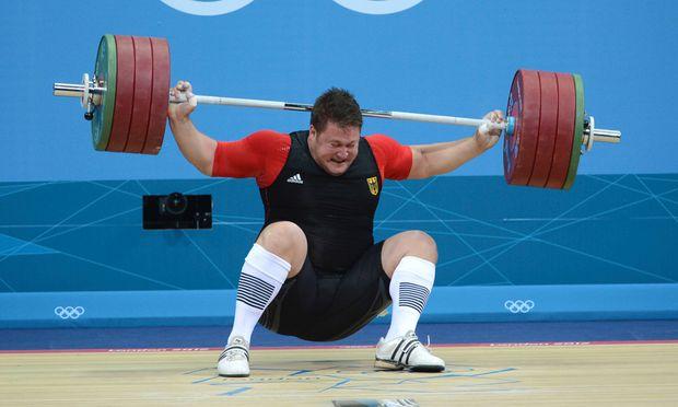 Gewichtheber Olympiasieger Steiner beendet