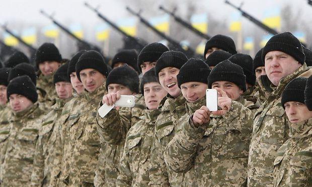 Die ukrainische Armee gilt als schlecht ausgerüstet