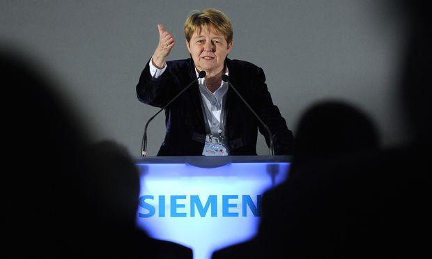 Ex-Siemens-Managerin Brigitte Ederer (Archivbild). / Bild: (c) APA/HANS KLAUS TECHT