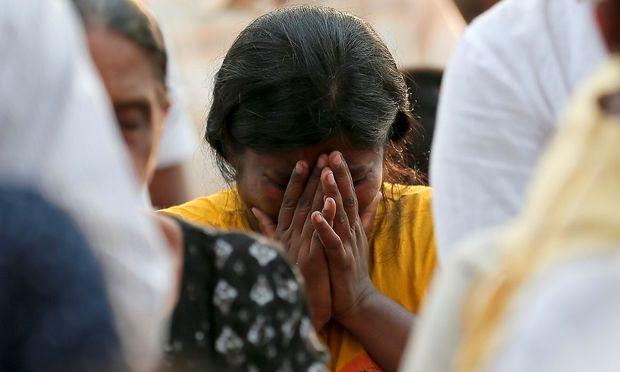 Trauer in Sri Lanka nach den islamistischen Anschlägen am Ostersonntag auf mehrere katholische Kirchen und Luxushotels