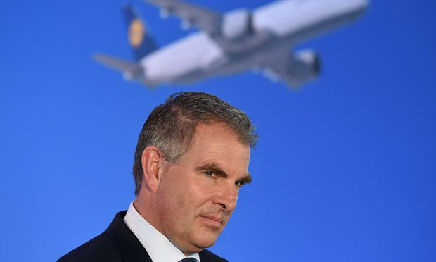 Lufthansa-Boss Carsten Spohr rechnet heuer mit weniger Gewinn.