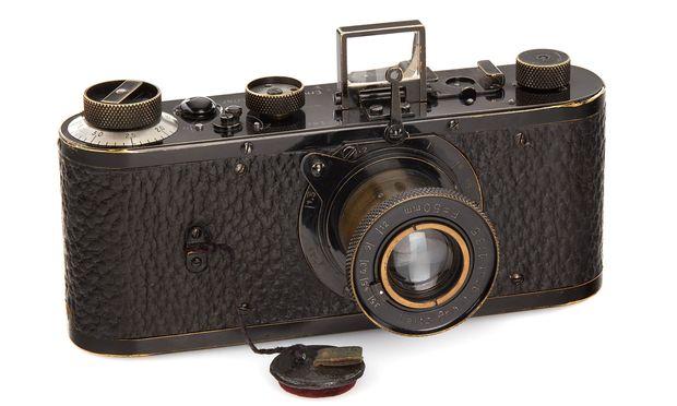 Leica-Kamera aus dem Jahr 1923 für 2,4 Millionen Euro versteigert