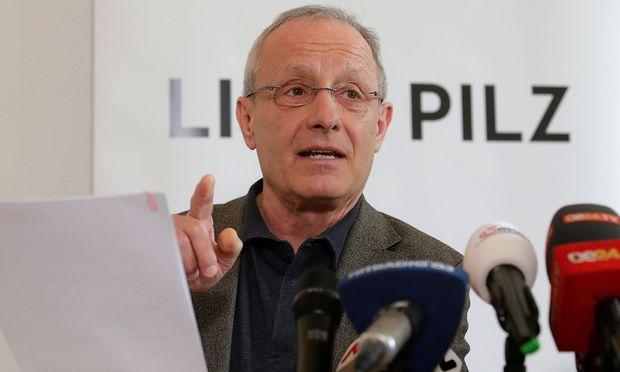 Peter Pilz, Gründer der Liste Pilz