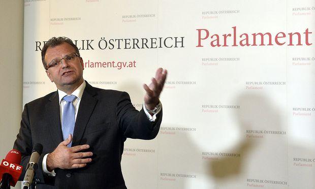 Hans-Jörg Jenewein zog auch den Unmut von ORF-Stiftungsrat Lederer auf sich.