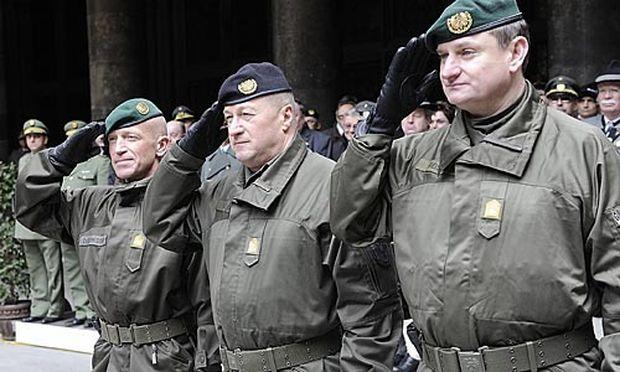 Karl Schmidseder tritt sein Amt als Wiener Militärkommandant an.