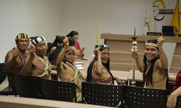 ECUADOR-INDIGENOUS-OIL-COURT-ENVIRONMENT
