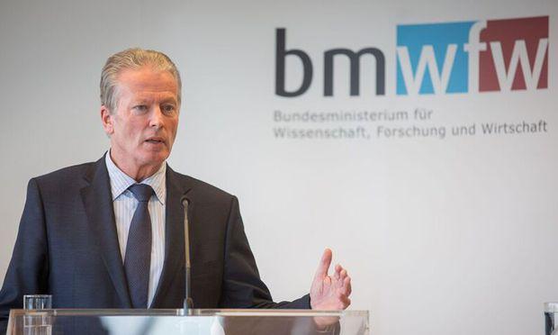 Wissenschaftsminister Reinhold Mitterlehner.
