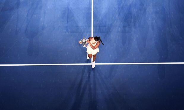 Sloane Stephens spazierte in New York zum Mittelpunkt der Tenniswelt.