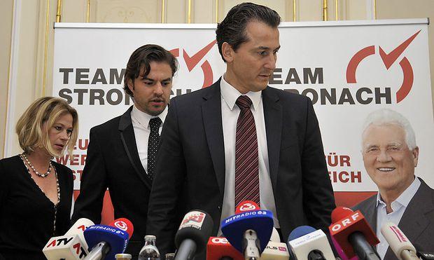 Team Stronach praesentiert neuen Abgeordneten