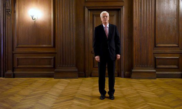 Verfassungsgerichtshof-Präsident Gerhart Holzinger