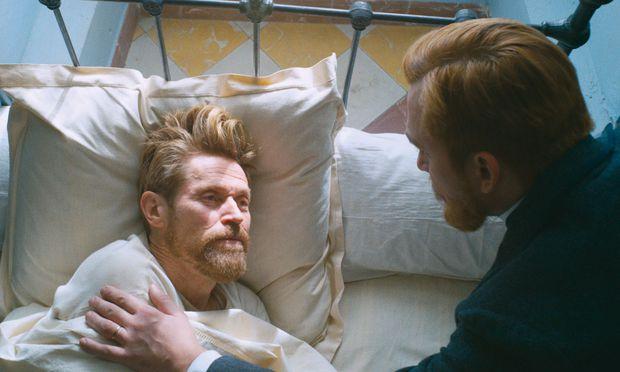 Einfühlsam. Willem Dafoe gibt Van Gogh als hypersensiblen (Alb-)Traumtänzer.