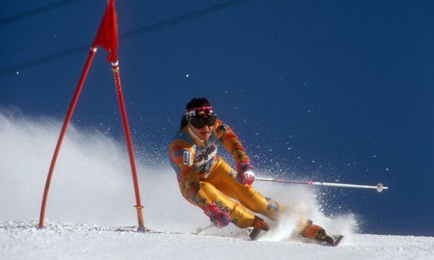 Alpine Ski WM in Saalbach Hinterglemm Riesenslalom der Damen Ochoa Blanca Fernandez
