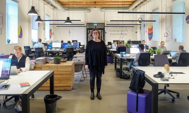 """""""Start-ups könnten die Lösung sein, um die Jungen zurück ins Land zu holen"""", sagt Ribačiauskaité."""