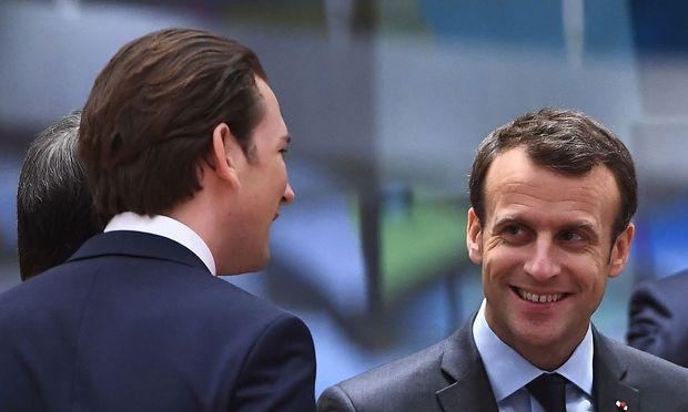 Archivbild: Macron und Kurz