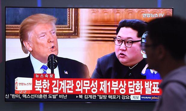Kim Jong-un droht, den Gipfel mit den USA abzusagen.