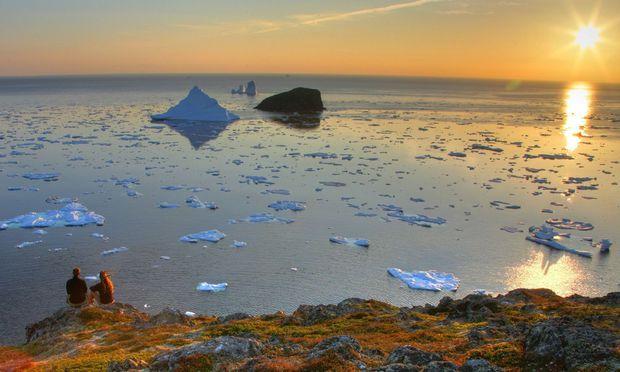 Wie schön ist Twillingate. Der Ort in Neufundland ist die Hauptstadt der Eisberge. Der Andrang hält sich in Grenzen.