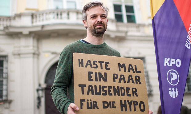 Europa-anders-Spitzenkandidat Martin Ehrenhauser