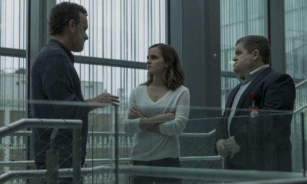 """Rundumschlag gegen die schöne neue Onlinewelt: """"The Circle"""" mit Tom Hanks, Emma Watson und Patton Oswalt, ab 8. September im Kino."""