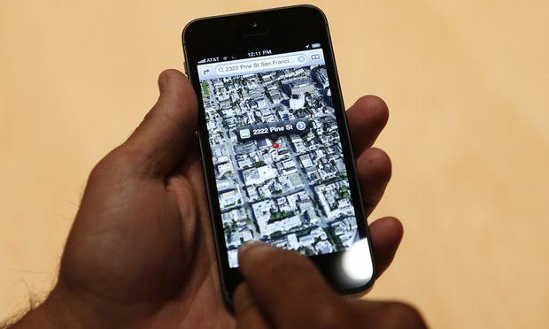 Apple will Kartendienst zwei