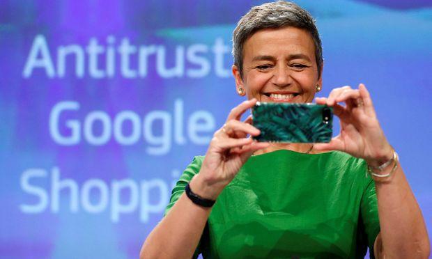 EU-Kommission verdonnert Google zu 2,42 Milliarden Euro Strafe