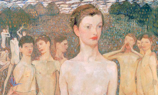 "Elena Luksch-Makowsky, ""Adolescentia"", 1903."