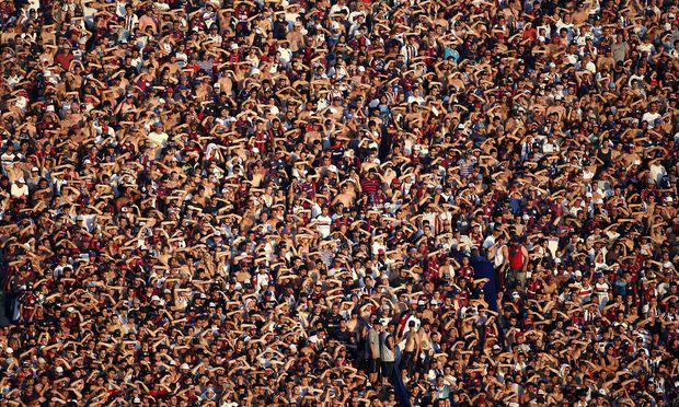 Die Zahl der Erdenbürger wird größer und größer.