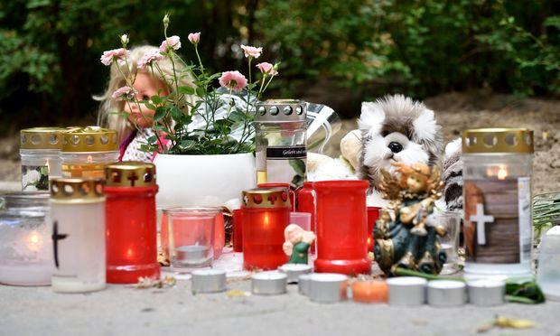 Im Dittes-Hof in Wien-Heiligenstadt wird des getöteten Mädchens gedacht.